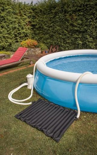 chauffer une piscine hors sol