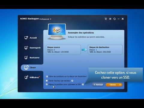 cloner disque dur