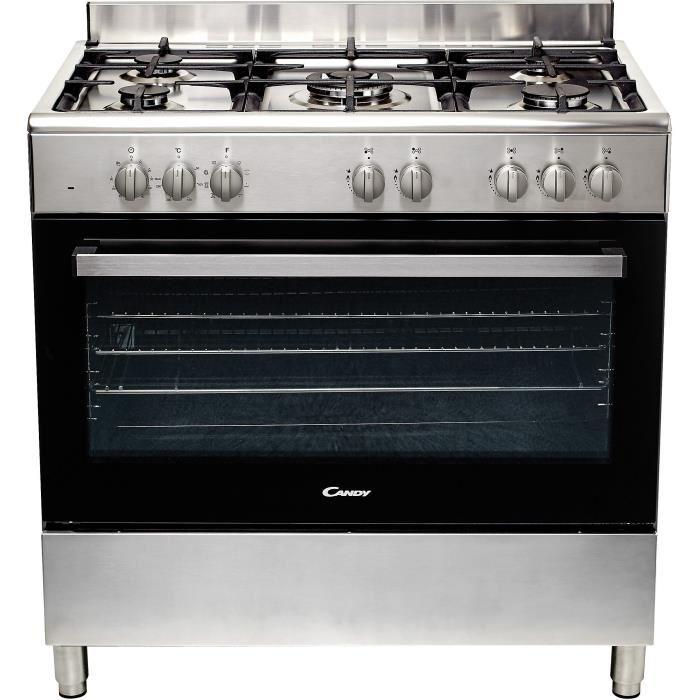 cuisinière gaz four électrique