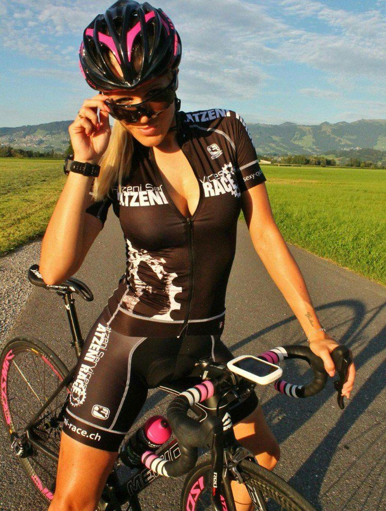 cycliste femme