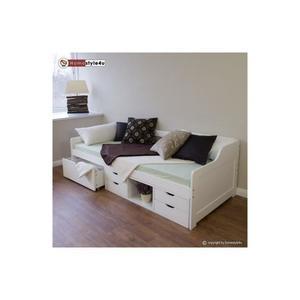 lit simple avec rangement