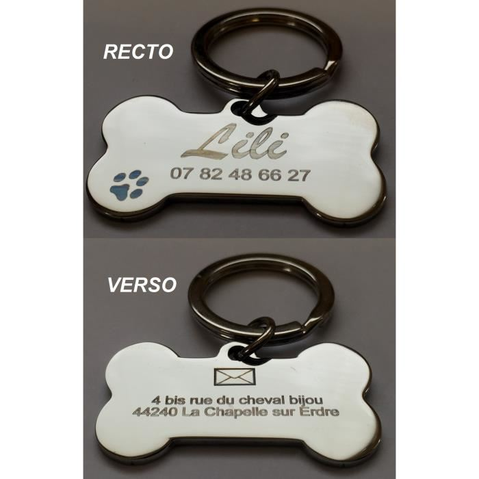 medaille pour chien