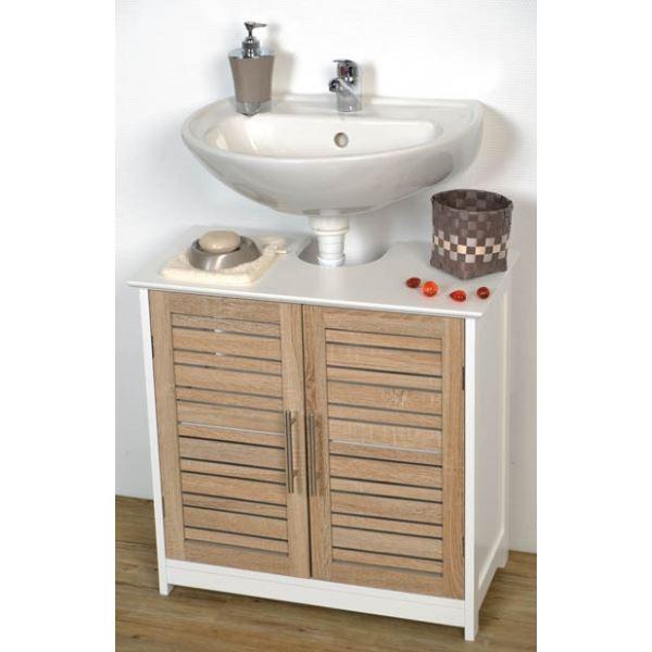 meuble salle de bain sous lavabo