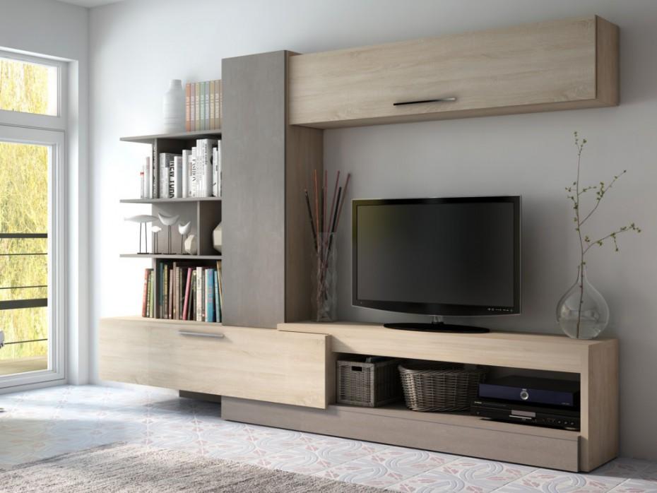 meuble tv avec rangement