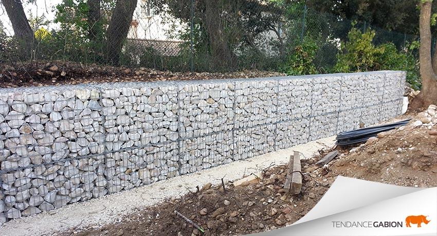 mur gabion