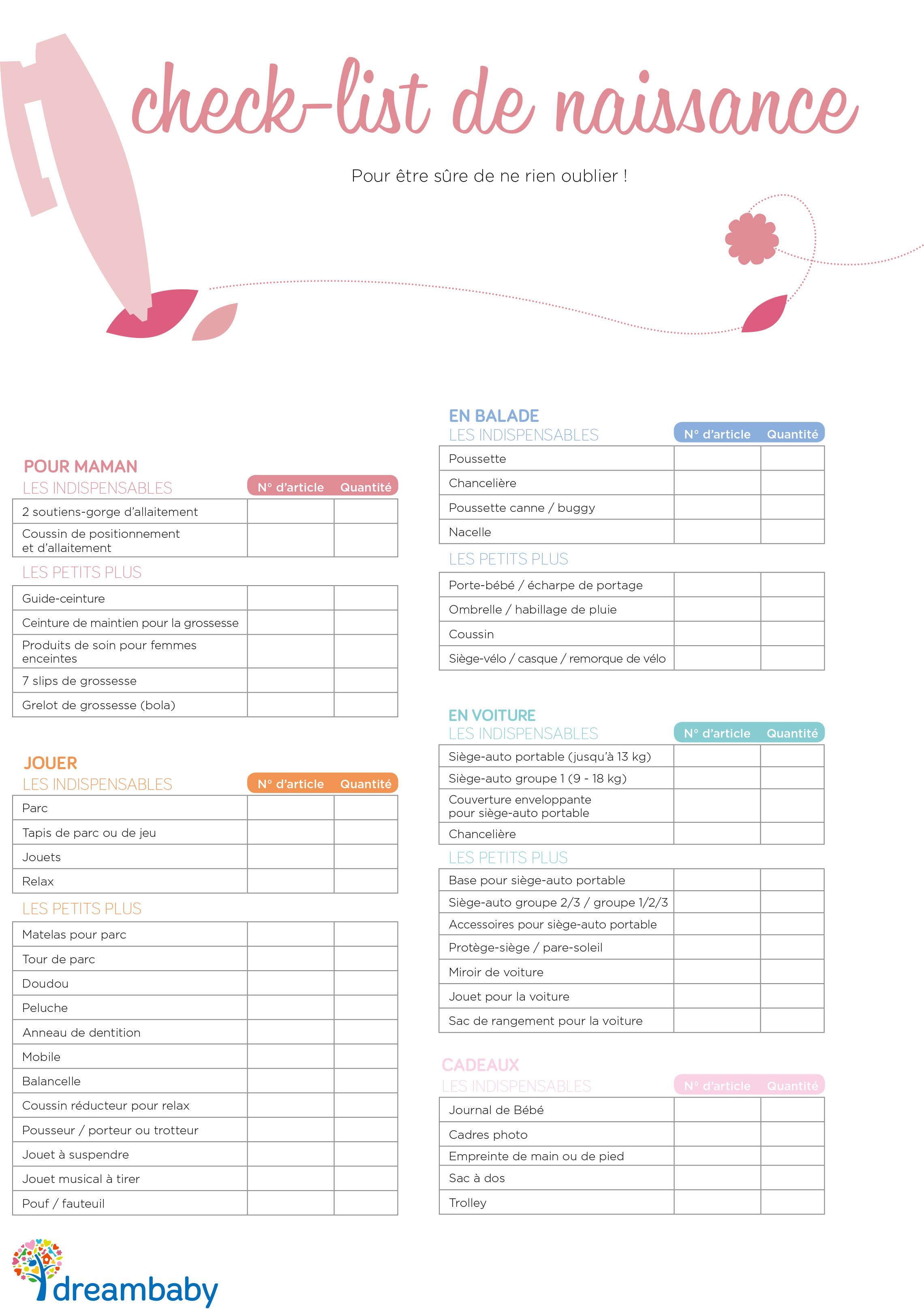 naissance liste