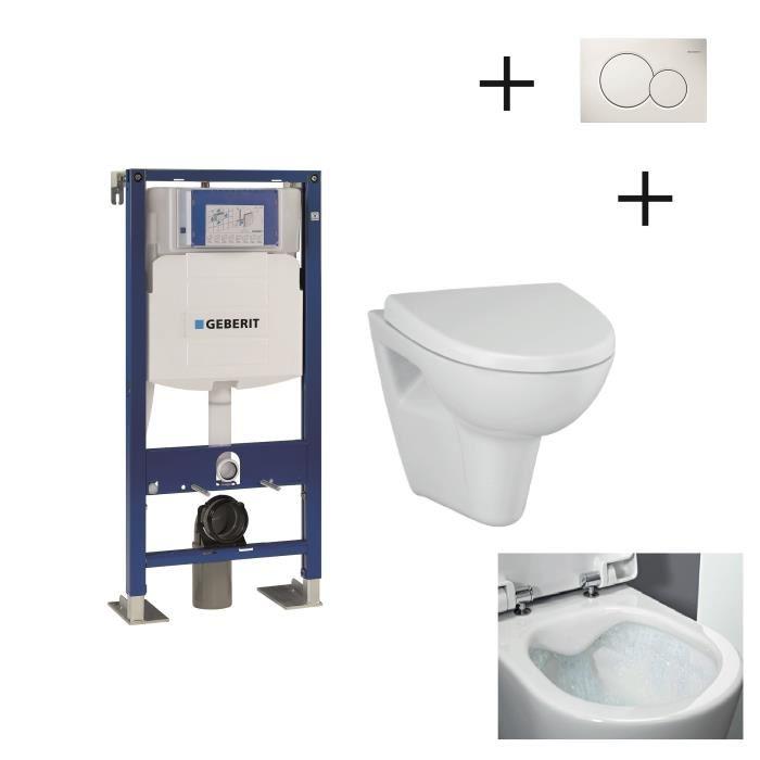 pack wc suspendu geberit