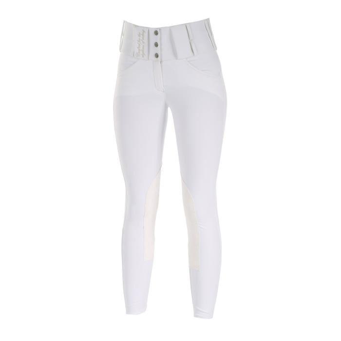 pantalon equitation blanc