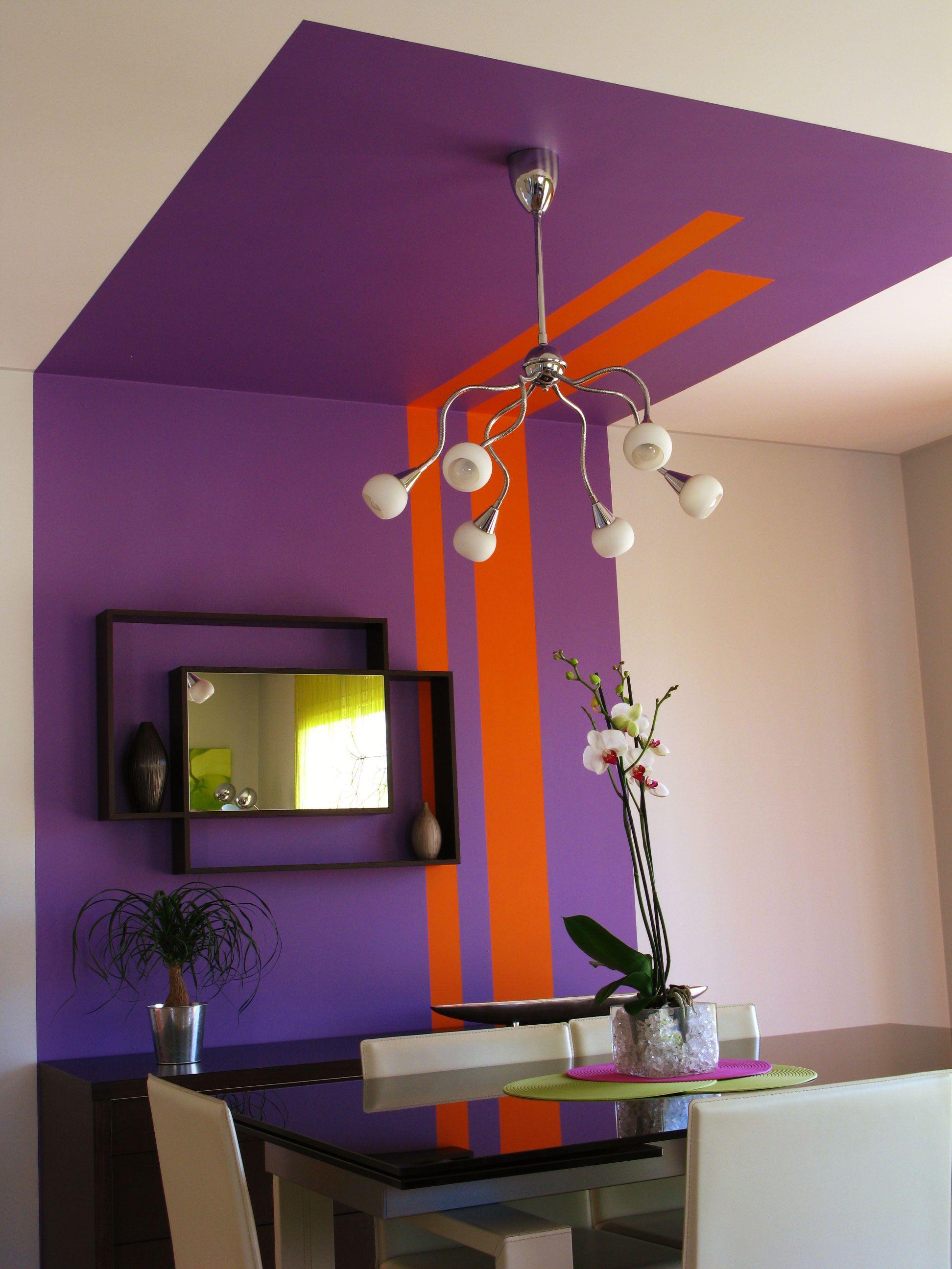 peinture mur et plafond