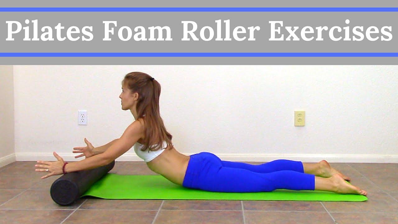 pilates foam roller