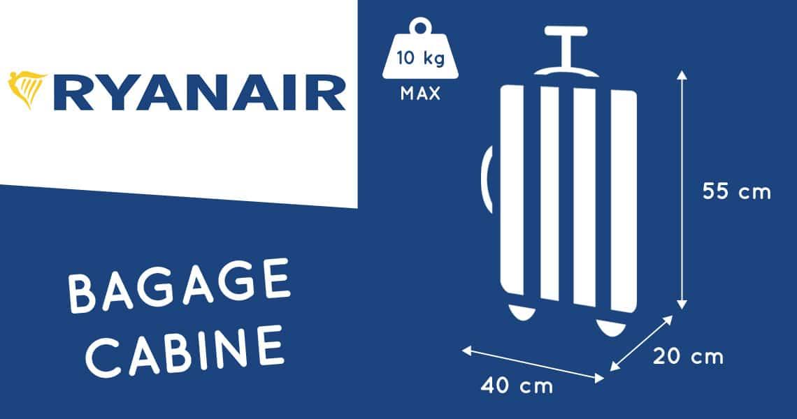 ryanair dimension bagage cabine