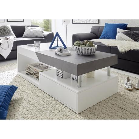 table basse avec rangement