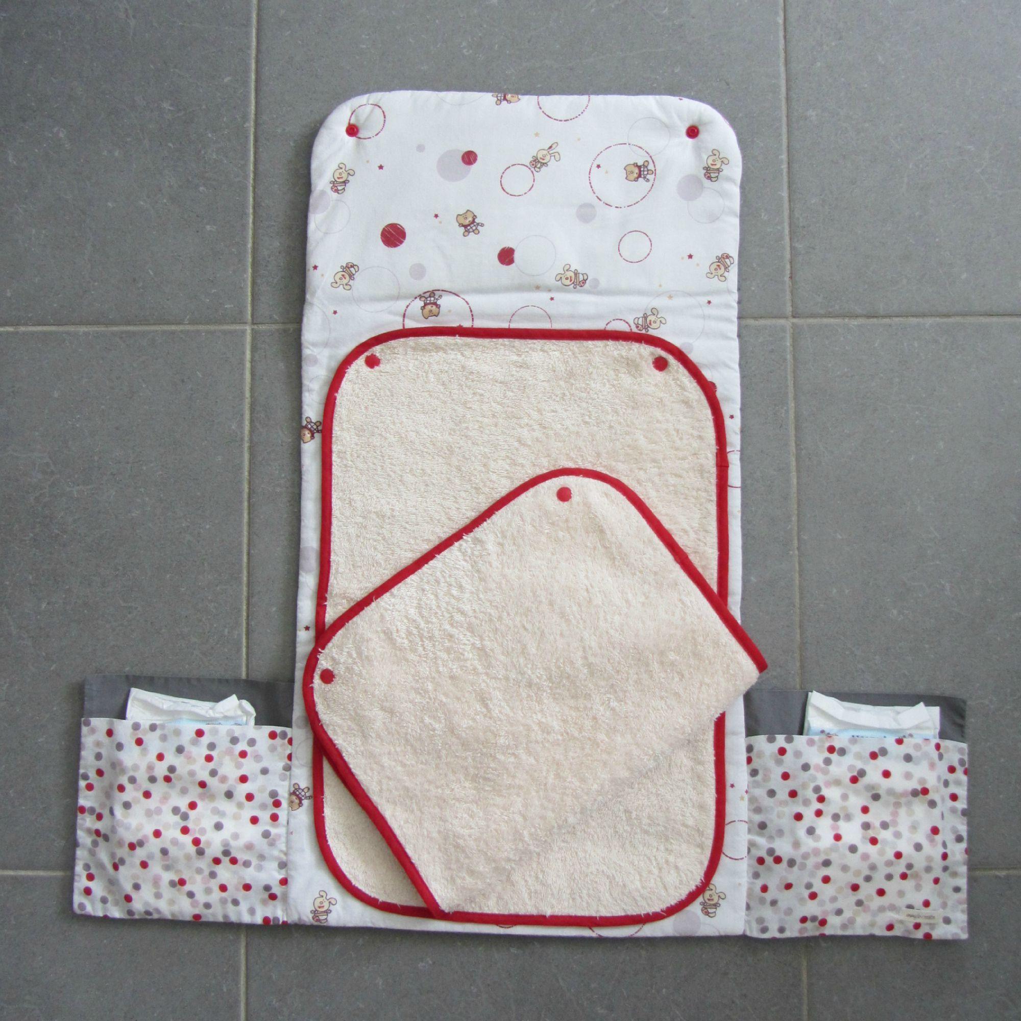 tapis à langer nomade