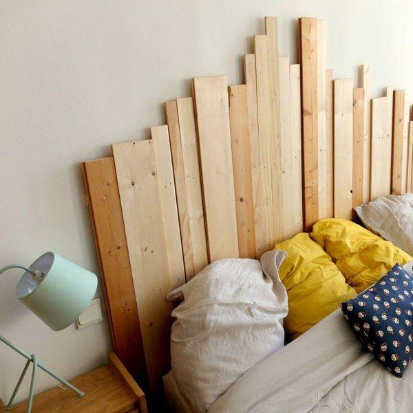 tete de lit bois