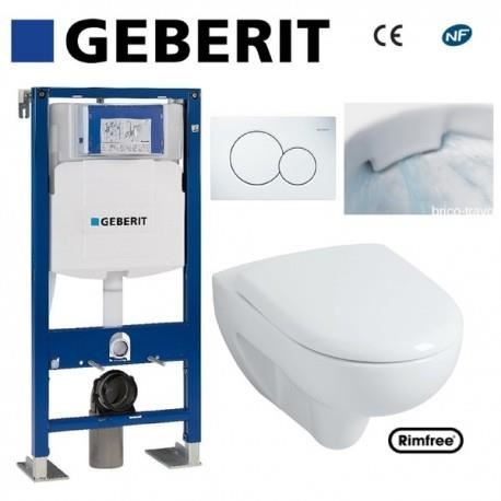 toilette suspendu geberit