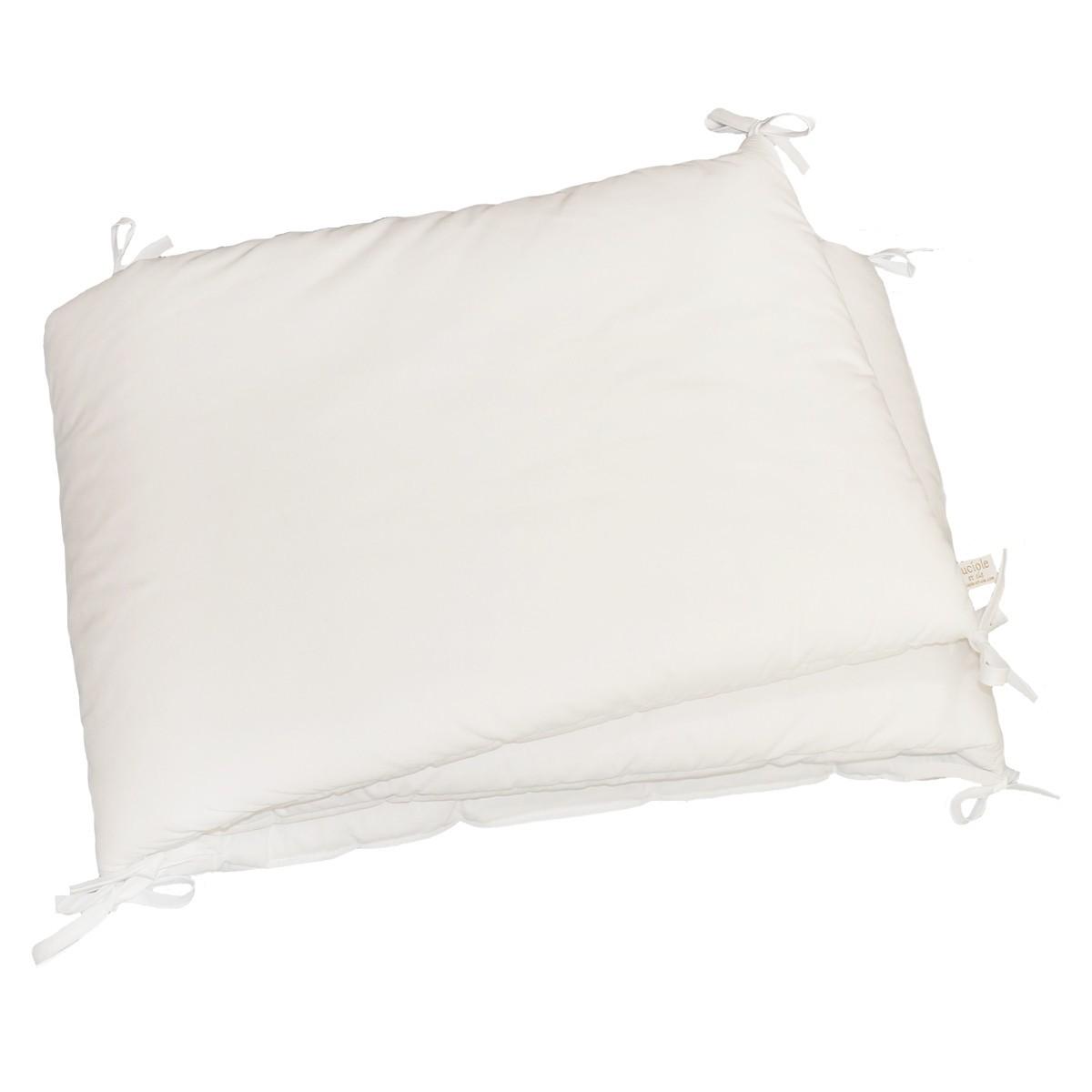 Julius Z/öllner 8200040100/Tour de lit Basic Soft Blanc
