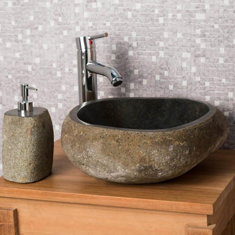 vasque en pierre salle de bain