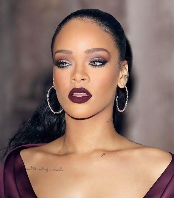 make up rihanna