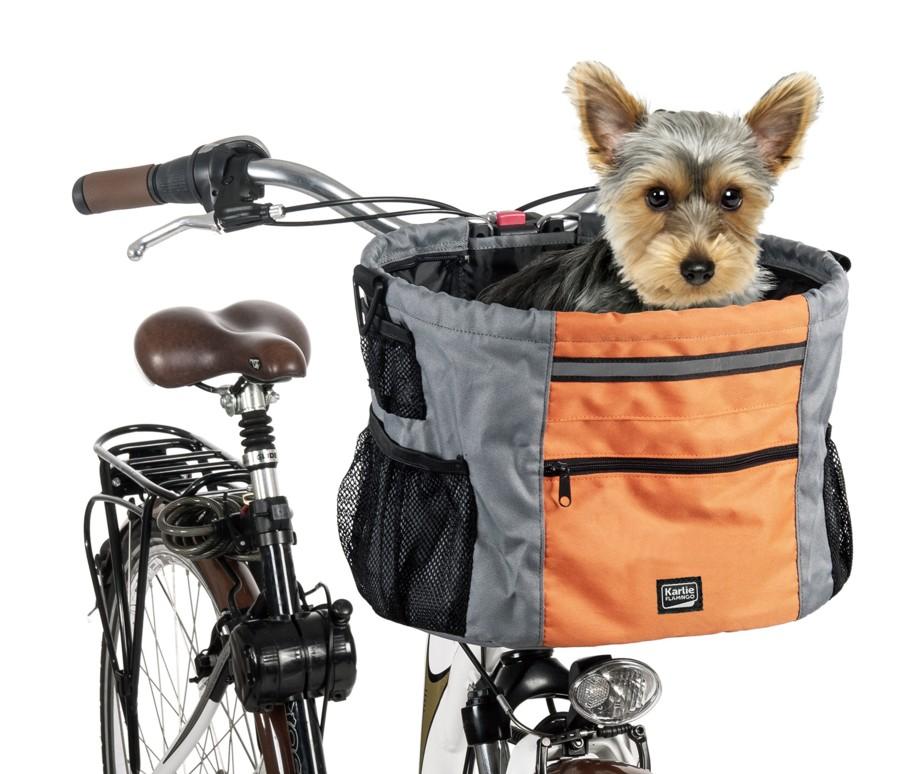 panier de transport vélo pour chien