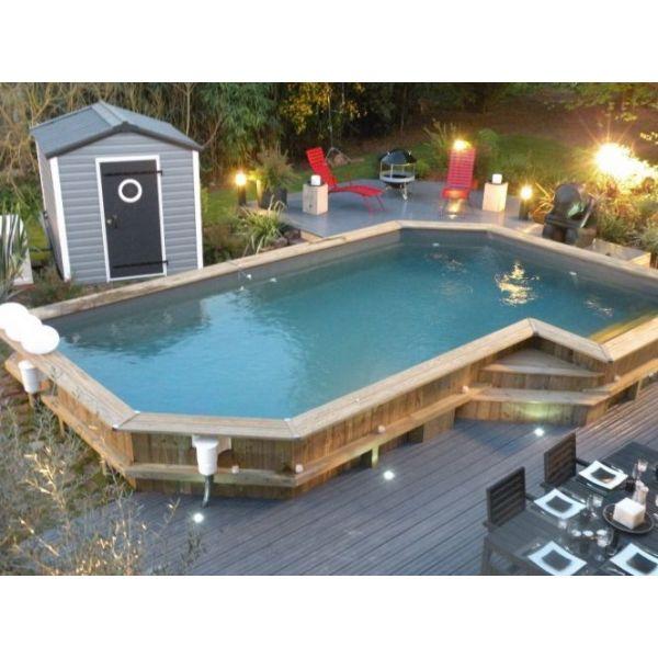 piscine semi enterre