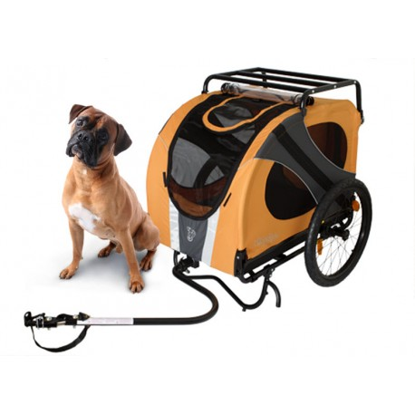 remorque chien vélo
