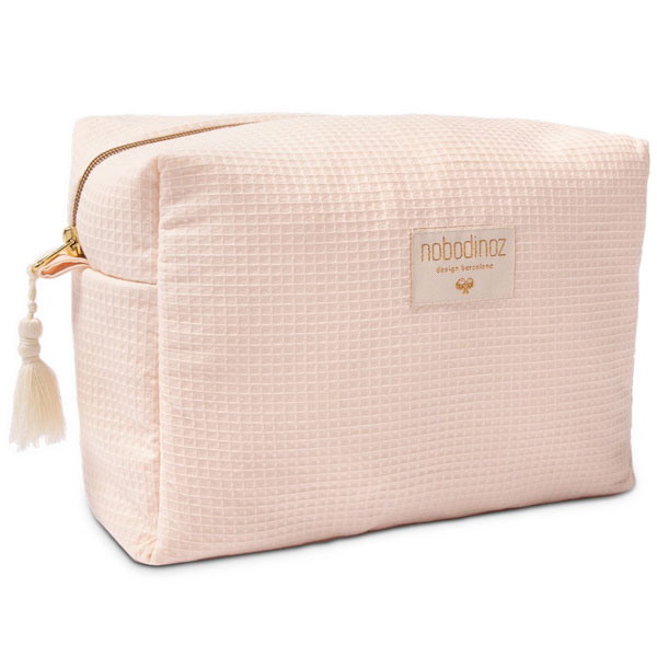trousse de toilette rose