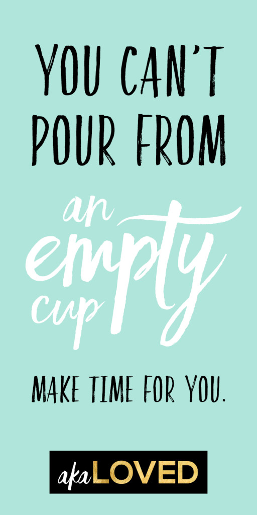 you pour