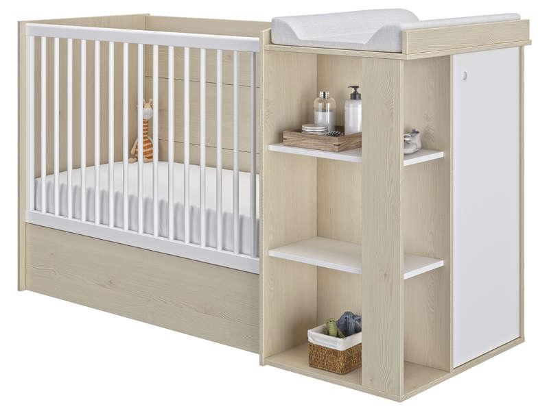 lit bébé avec table à langer intégrée