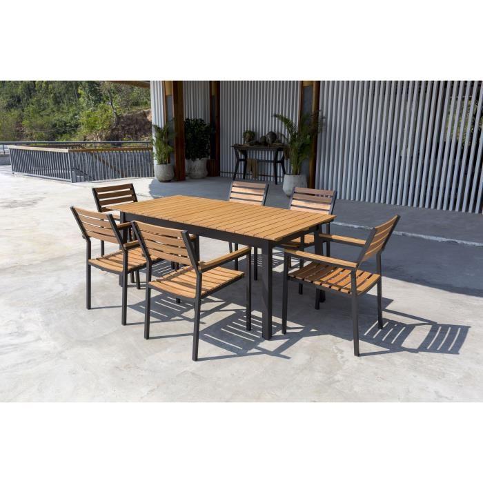ensemble table de jardin