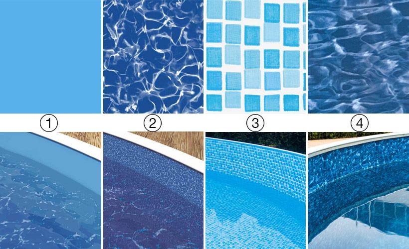 liner piscine hors sol ronde