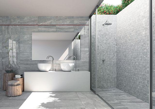 salle de bain mosaique