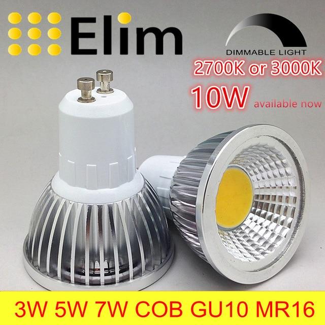 spot led gu10 10w
